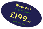 Websites from £199 per annum